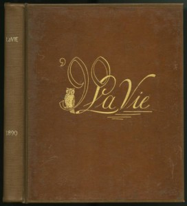 Front Cover of La Vie in 1890.