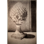 Foundation | ART 110S | Tone drawing of a finial