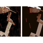 Foundation | ART 201 | Dynamic composition with rectangles after a painting by Egon Schiele | exercise from Digital Foundations by xtine burroughs and Michael Mandiberg