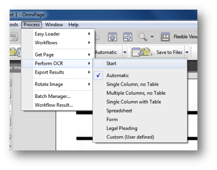 Accessibility at Penn State | OCR with OmniPage (Windows)