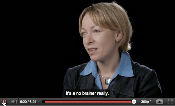 Image of Nuria Sagarra with caption 'It's a no brainer really.'
