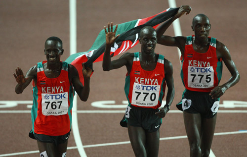 """kenyans running Running with the kenyans quotes (showing 1-10 of 10) """"right before you head out running, it can be hard to remember exactly why you're doing it you often have to override a nagging sense of futility, lacing up your shoes, telling yourslef that no matter how unlikely it seems right now, after you finish you will be glad you went."""