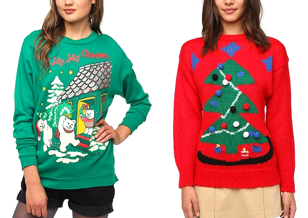 Urban Outfitters Ugly Christmas Sweater.December 2013 College To Curtin
