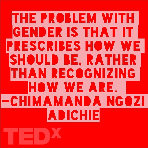 how to be a feminist ted talk