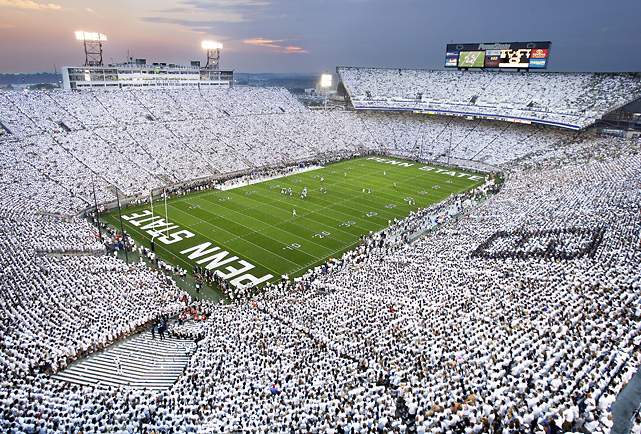 Image result for Penn state white out