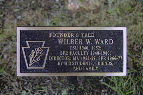 Founders Tree Plaque