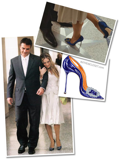 Manolo blahnik shoes sex and the city
