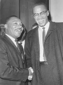 Two famous, uncompromising radicals of the Civil Rights Era.