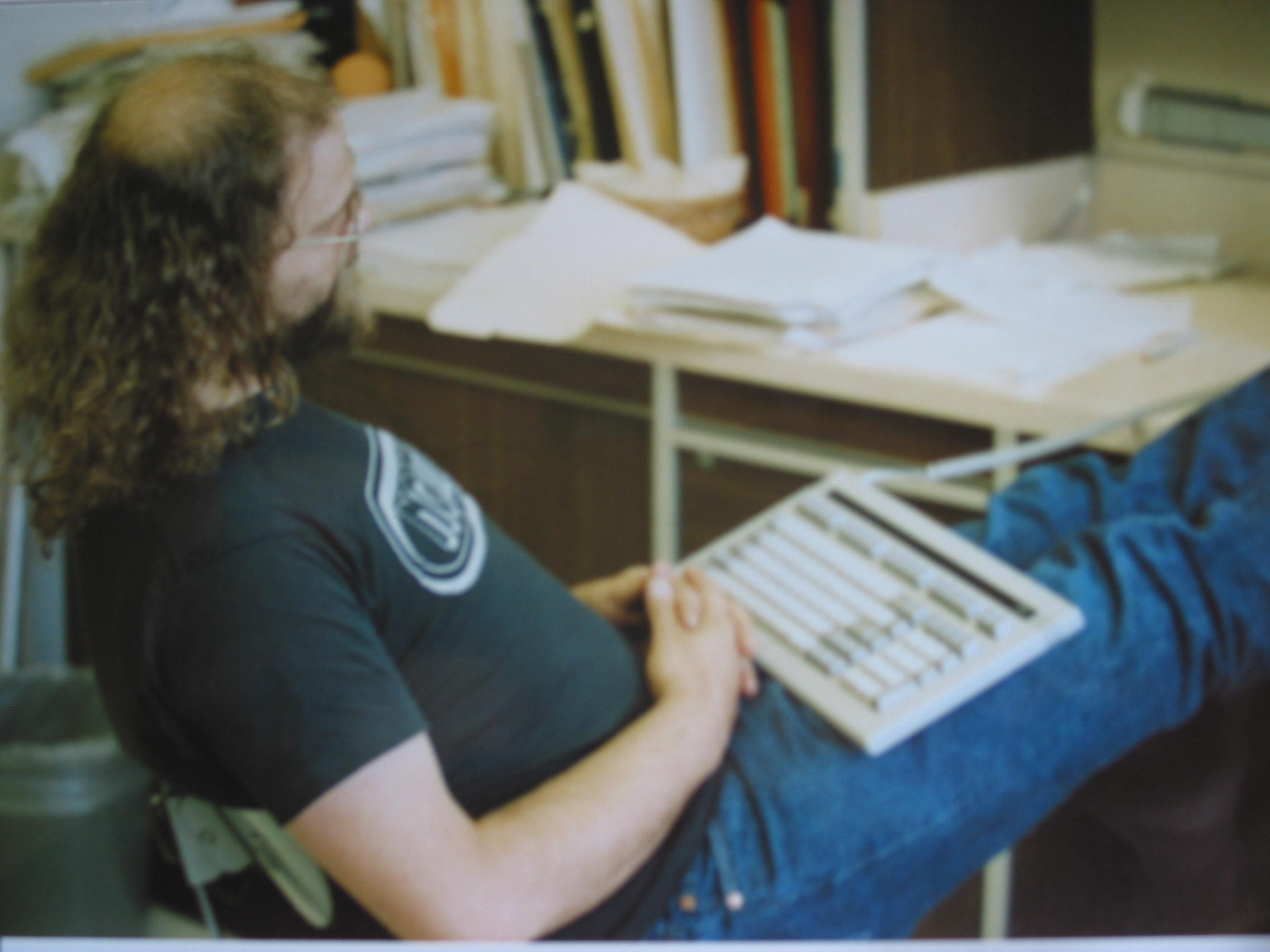 Paul Butler at SFSU circa 1988