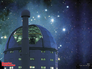 The South Africa Large Telescope.