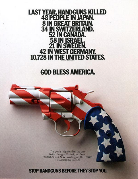 rhetorical analysis essay draft cash rcl blog this print ad was made in 1981 a time before school shootings had become the epidemic that they are today it centers on handguns specifically and like the