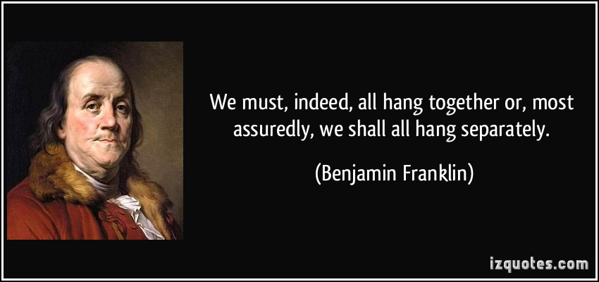 Ben Franklin New Years Quote: Summer Session