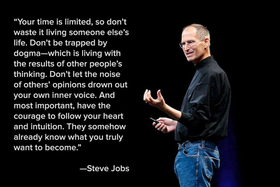 rhetorical analysis speech steve jobs Steve jobs used figures of speech in his previous speeches, for an analysis of  steve jobs commencement speech at stanford university in 2005, take a look at .