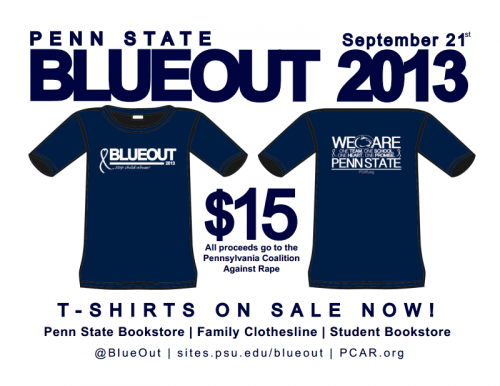 2013 Blue Out Shirts