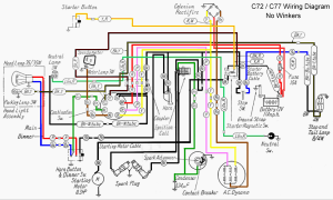 CA77 wiring harness 300x180 repairs honda ca77 wiring diagram at alyssarenee.co