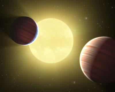 Four synchronized planets reveal clues to how planets form