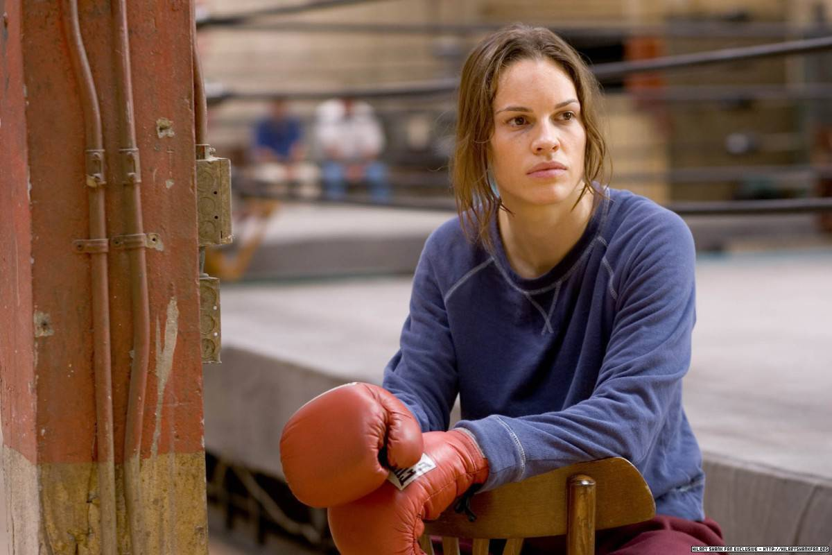 Image result for million dollar baby hilary swank