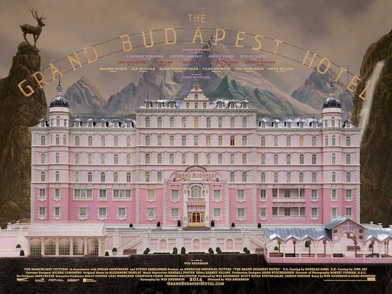 The Grand Budapest Hotel 2014 Grab The Popcorn