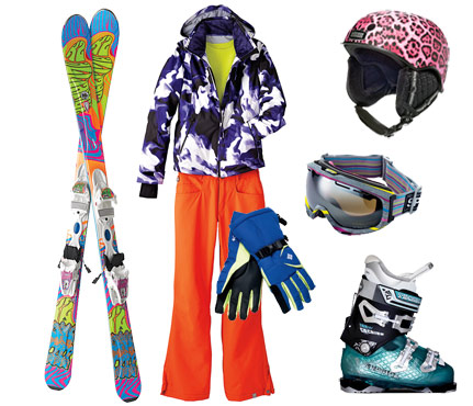 Womens Ski Fashion