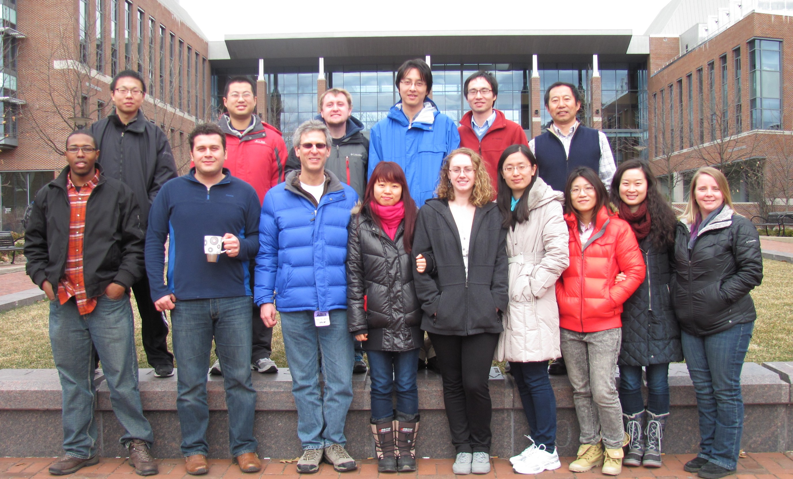 First Group Picture at PSU_ Spring 2013