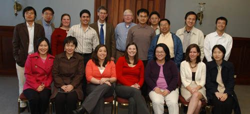 2006 Cremer Group----Dr. Cremer won Norman Hackerman Award in Chemical Research