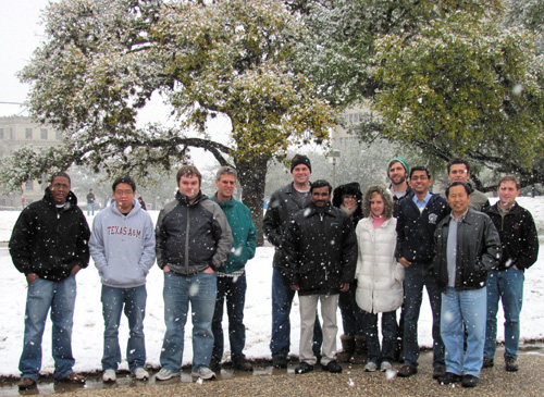 February 23, 2010 - Snow in Texas!