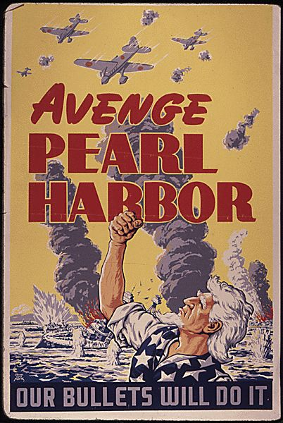response to pearl harbor