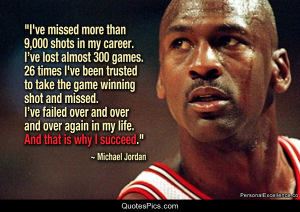 Inspirational Quotes About Failure In Sports: Failure Is The Beginning Of Success