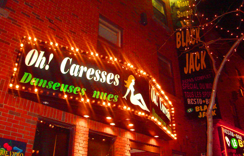 Montreal stripclubs
