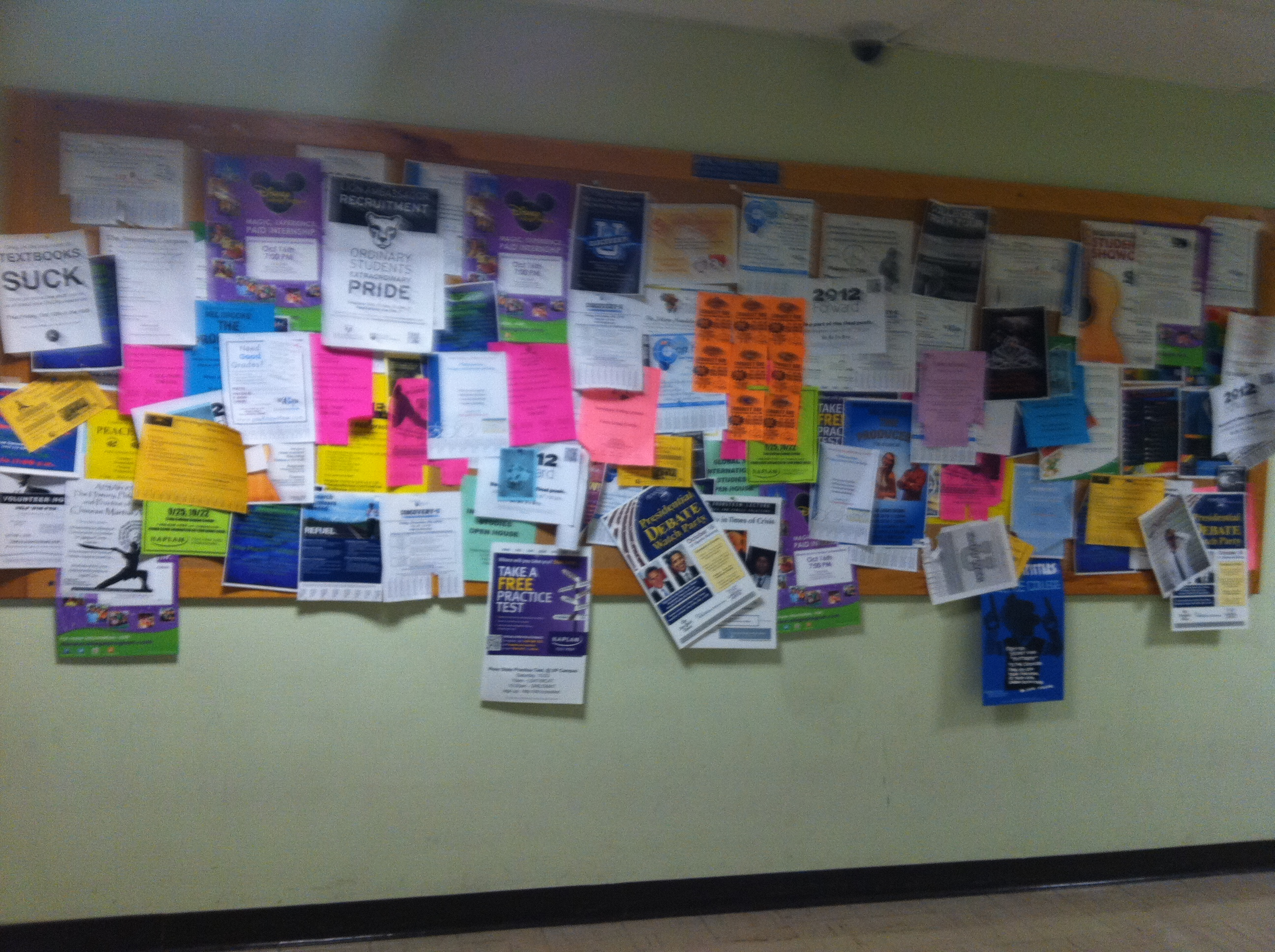 Bulletin boards: a selection of sites