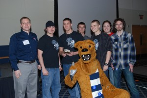 ASME Harrisburg Second place, 2013 Penn State Rube Goldberg Regional Contest