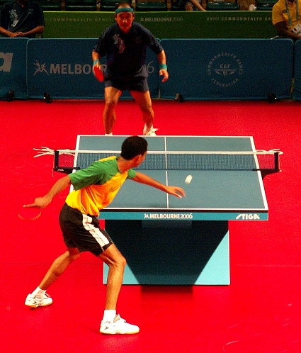 table tennis rules and gameplay