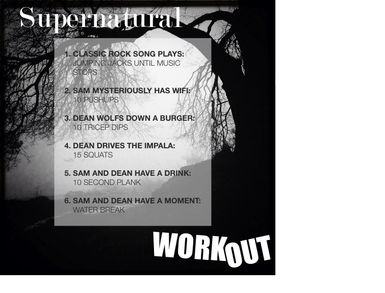 Supernatural TV Workout – Fun Fitness: A Healthy and Happy