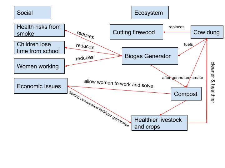 Biogas Diagram Nicolina Dimascia Geog 30 Our Perspectives