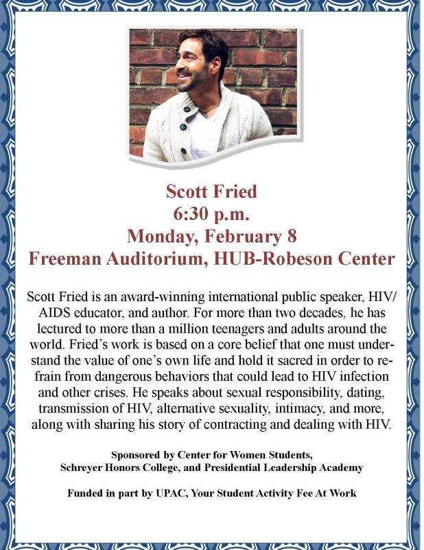 Upcoming Talk on Sexual Violence and Sexual Responsibility!