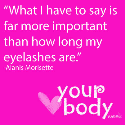 Love your body week quote