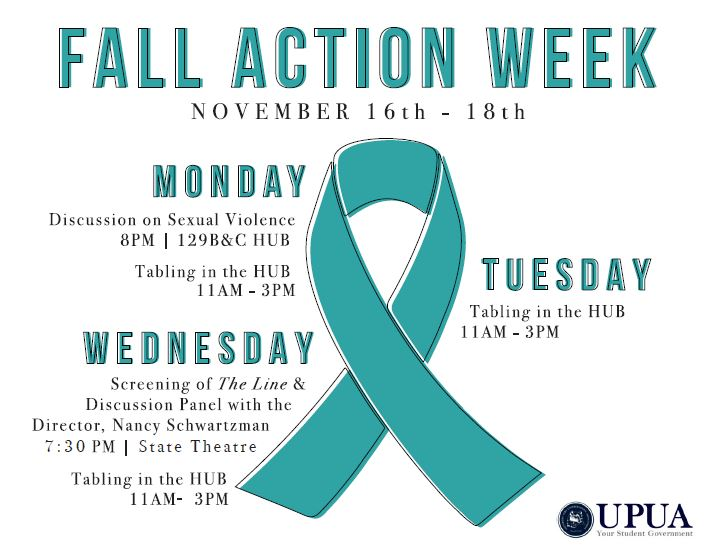Fall action week flyer