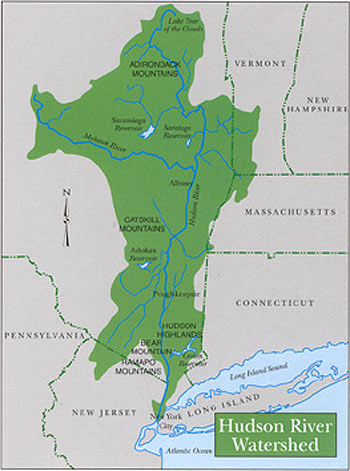 A Brief History Of The Hudson River The Hudson River Superfund - Us superfund site map