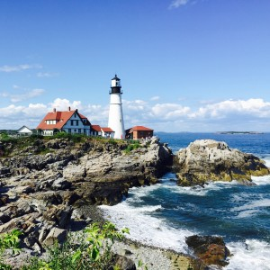 The picturesque Portland Head Light