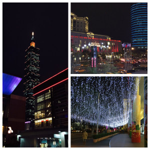 Lights and sights of Xinyi District