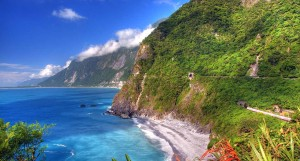 The stunning Hualien coast