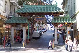 The welcoming arch of San Francisco's Chinatown