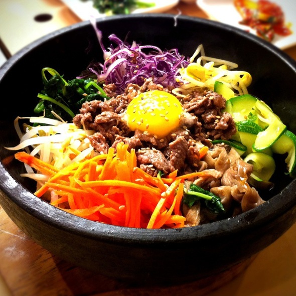 Image gallery seafood bibimbap for J kitchen korean japanese restaurant