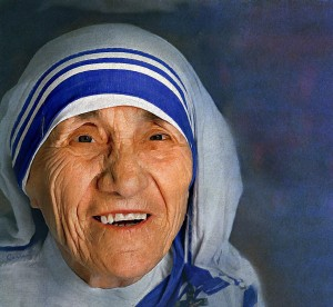 """Someone once told me that not even for a million dollars would they touch a leper. I responded, """"Neither would I. If it were a case of money, I would not even do it for two million. On the other hand, I do it gladly for the love of God."""" -Mother Theresa"""