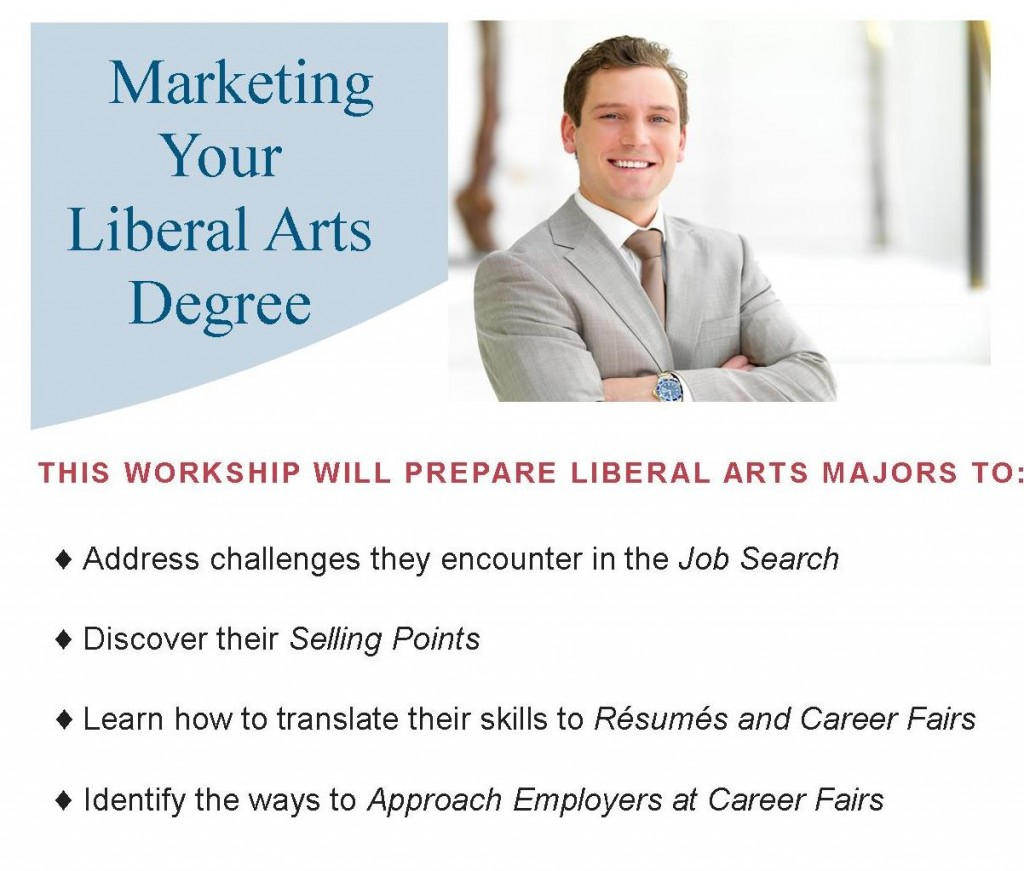 Marketing Your Liberal Arts Degree Workshop 2