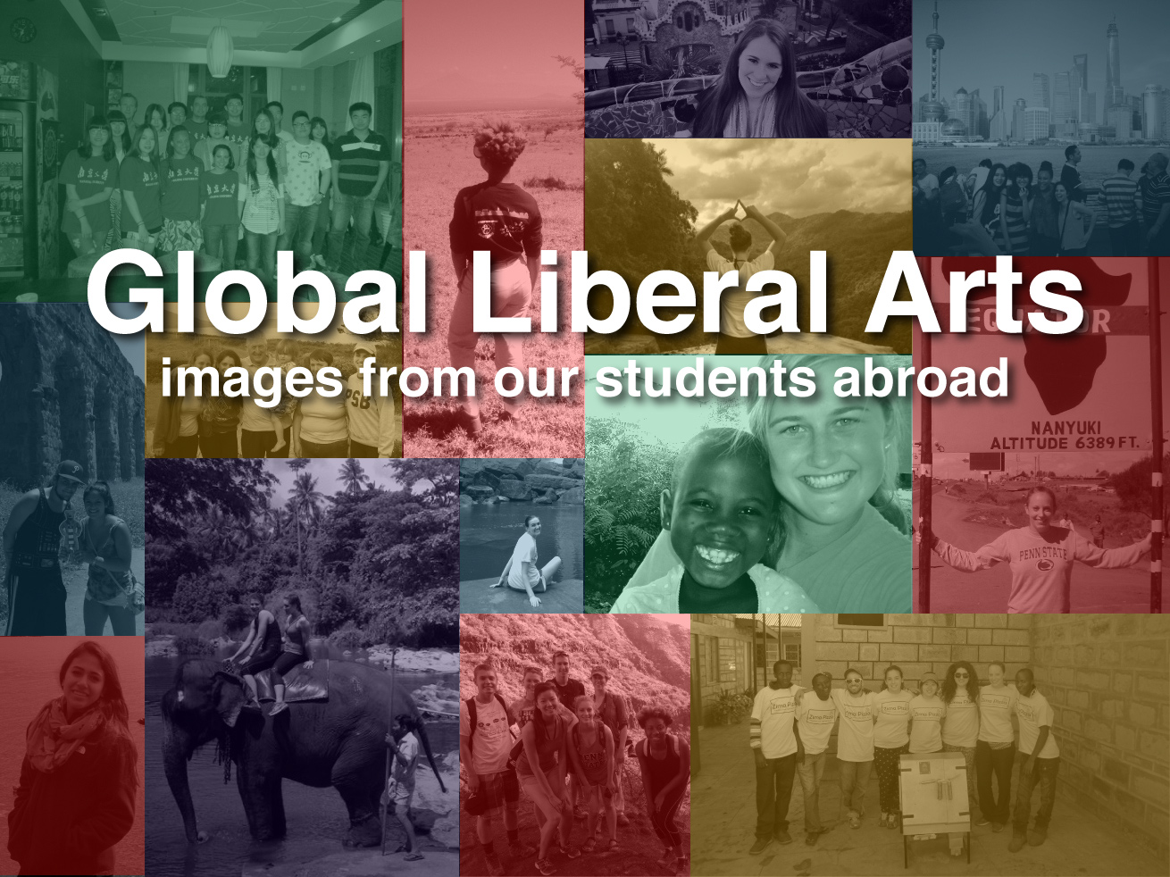 Global Liberal Arts: images from our students abroad