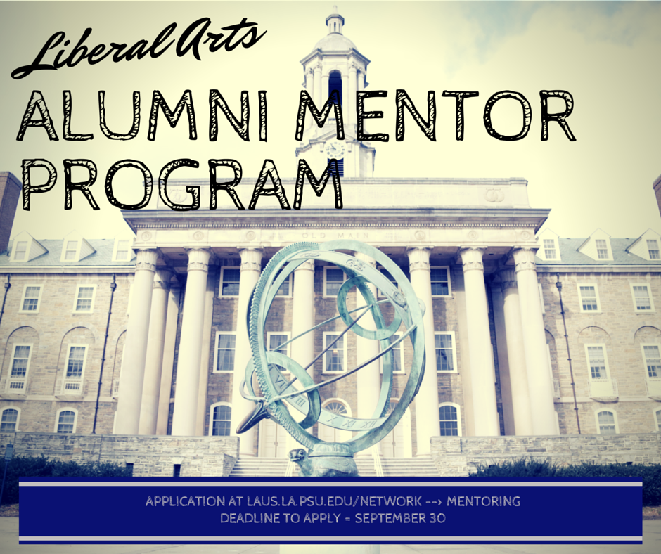 Mentor Program Fbook Post