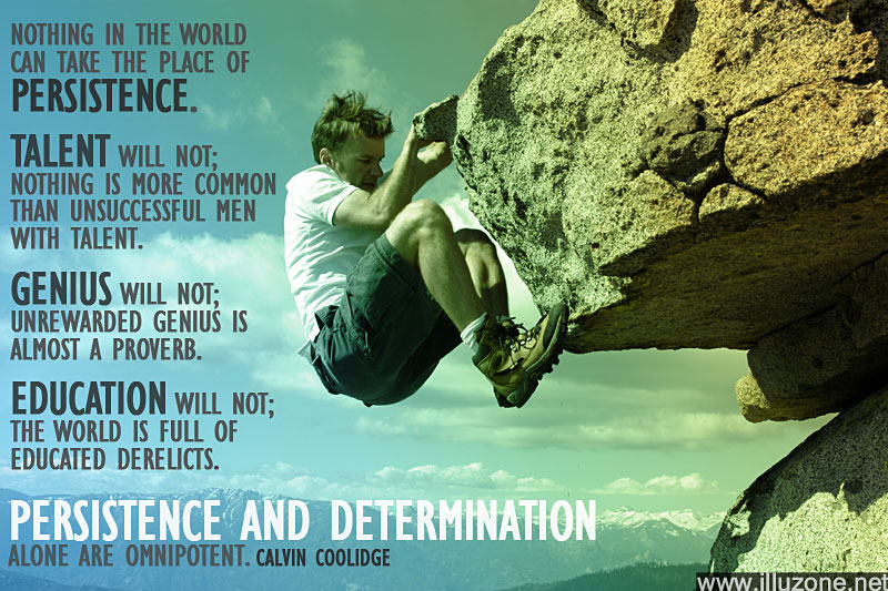 Quotations About Persistence: Persistence