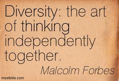 Quotes On Diversity Magnificent Strength In Diversity