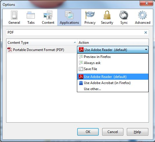 print pages to pdf firefox